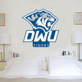 3 ft x 3 ft Fan WallSkinz-DWU Tigers w/ Tiger Head