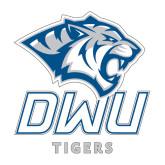 Medium Decal-DWU Tigers w/ Tiger Head