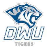 Large Decal-DWU Tigers w/ Tiger Head