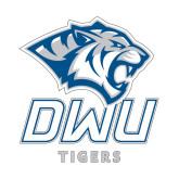 Small Decal-DWU Tigers w/ Tiger Head