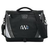 Slope Black/Grey Compu Messenger Bag-University Mark