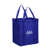 Non Woven Royal Grocery Tote-University Mark
