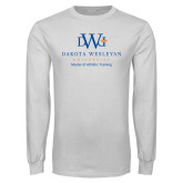 White Long Sleeve T Shirt-Master Of Athletic