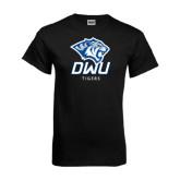 Black T Shirt-DWU Tigers w/ Tiger Head
