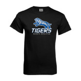 Black T Shirt-Tigers w/ Full Tiger