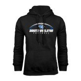 Black Fleece Hoodie-Dakota Wesleyan Football Horizontal