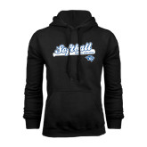 Black Fleece Hoodie-Softball Script