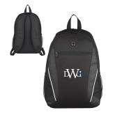 Atlas Black Computer Backpack-University Mark