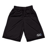 Russell Performance Black 10 Inch Short w/Pockets-University Mark