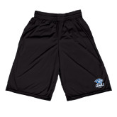 Russell Performance Black 10 Inch Short w/Pockets-DWU Tigers w/ Tiger Head
