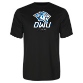 Performance Black Tee-DWU Tigers w/ Tiger Head