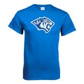 Royal T Shirt-Tiger Head Distressed