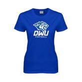 Ladies Royal T Shirt-Football