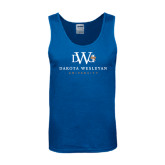 Royal Tank Top-University Combination Mark Stacked
