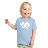 Toddler Light Blue T Shirt-Tiger Head