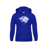 Youth Royal Fleece Hoodie-Tiger Head