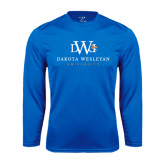 Performance Royal Longsleeve Shirt-University Combination Mark Stacked