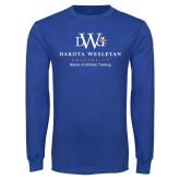 Royal Long Sleeve T Shirt-Master Of Athletic