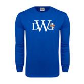 Royal Long Sleeve T Shirt-University Mark