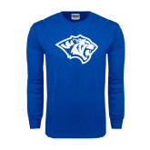 Royal Long Sleeve T Shirt-Tiger Head