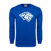 Royal Long Sleeve T Shirt-Tiger Head