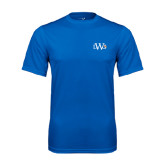 Performance Royal Tee-University Mark