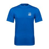 Performance Royal Tee-DWU Tigers w/ Tiger Head