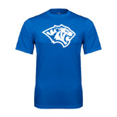 Performance Royal Tee-Tiger Head