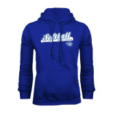 Royal Fleece Hoodie-Softball Script