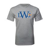 Grey T Shirt-University Mark