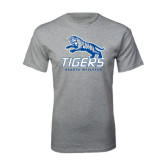 Grey T Shirt-Tigers w/ Full Tiger