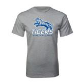 Grey T Shirt-Tigers w/ Full Tiger