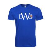 Next Level SoftStyle Royal T Shirt-University Mark