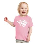 Toddler Pink T Shirt-Tiger Head