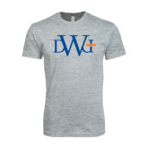 Next Level SoftStyle Heather Grey T Shirt-University Mark