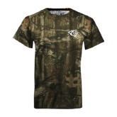 Realtree Camo T Shirt-Tiger Head