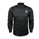 Red House Black Long Sleeve Shirt-DWU Tigers w/ Tiger Head