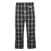 Black/Grey Flannel Pajama Pant-University Mark