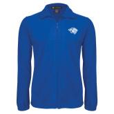 Fleece Full Zip Royal Jacket-Tiger Head