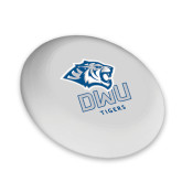 Ultimate White Sport Disc-DWU Tigers w/ Tiger Head