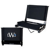Stadium Chair Black-University Mark