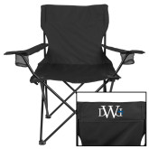 Deluxe Black Captains Chair-University Mark