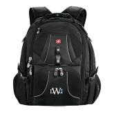 Wenger Swiss Army Mega Black Compu Backpack-University Mark