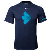 Under Armour Navy Tech Tee-e3 Arrow