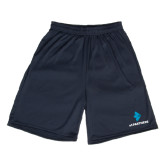 Performance Classic Navy 9 Inch Short-e3 Arrow Stacked