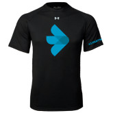 Under Armour Black Tech Tee-e3 Arrow