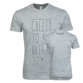 Next Level SoftStyle Heather Grey T Shirt-Called To All Nations