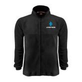 Fleece Full Zip Black Jacket-e3 Arrow Stacked