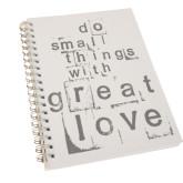 I Am Second Clear 7 x 10 Spiral Journal Notebook-Transformed