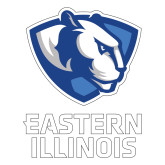 Large Decal-EIU Primary Logo, 12 inches tall